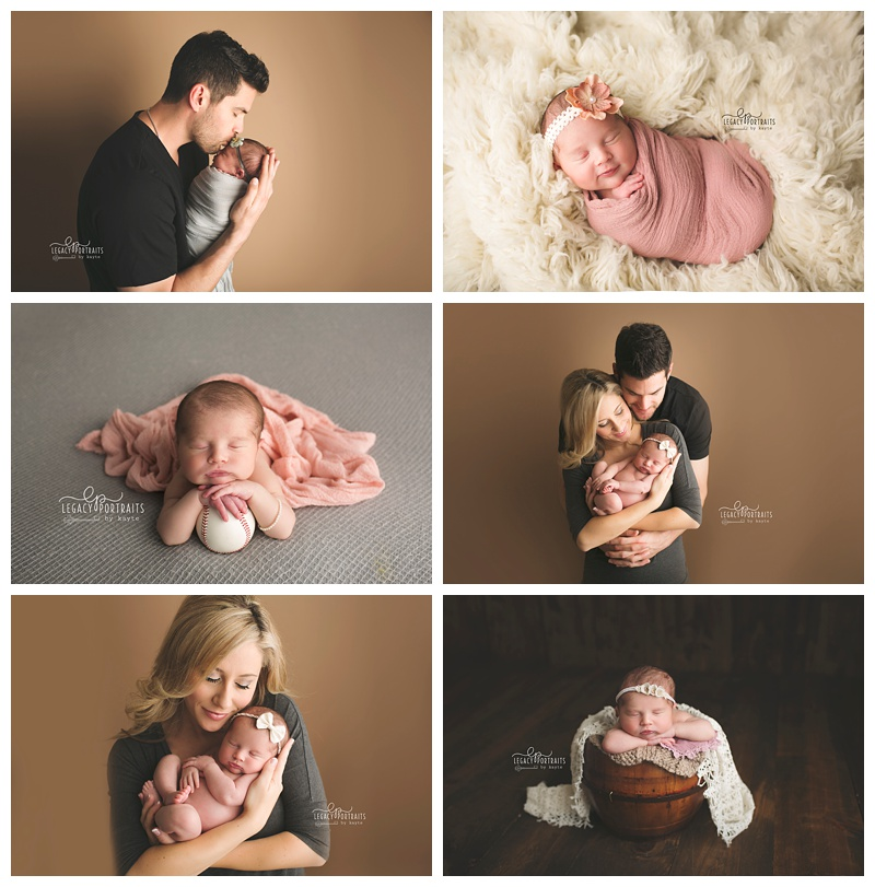 Legacy portraits by kayte fort wayne in newborn photographer