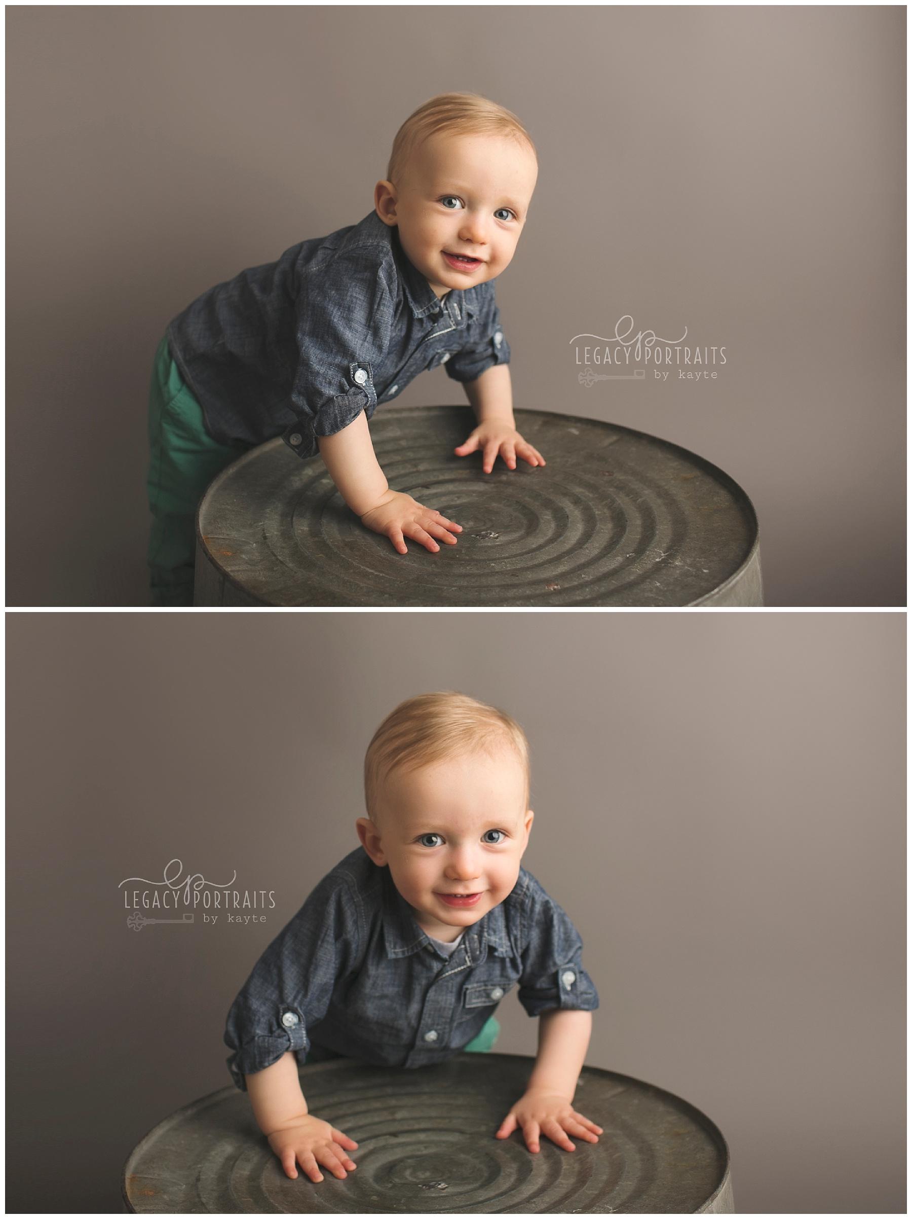 Fort Wayne Baby Photographer | Legacy Portraits by Kayte | www.legacyportraitsbykayte.com